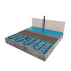 C&F Underfloor Heating Mat Floor Construction